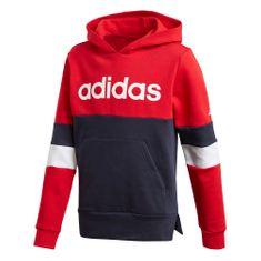 Adidas chlapecká mikina YB LIN CB HD FL