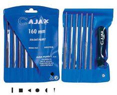 AJAX Sada pilníkov ihlových 1393/180/6D/0 s držadlom