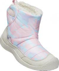 KEEN Howser II MID C čizme za djevojčice silver birch/pink blush