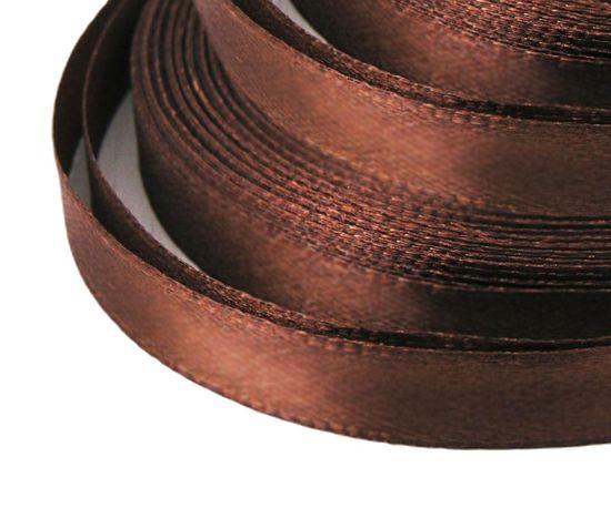 Kraftika Saténová stužka, čokoládově hnědá, dekorace, svatba