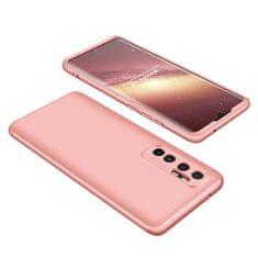 GKK 360 Full Body műanyag tok Xiaomi Mi 10 Lite, rózsaszín