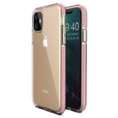 MG Spring Case szilikon tok iPhone 11, világos rózsaszín