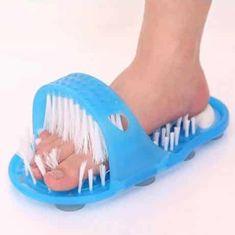 Delight Copat za čiščenje nog, čistilna ščetka za noge, masažer za čiščenje nog
