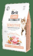 Brit Care Cat Grain-Free Sensitive Healthy Digestion & Delicate Taste 2 kg