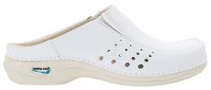Nursing Care BERLIM pracovní kožená pratelná obuv s certifikací unisex bez pásku bílá WG4A10 Nursing Care Velikost: 35