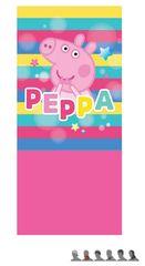 """Eplusm Detský zateplený nákrčník - """"Peppa Pig"""" - ružová - 24x56cm"""