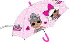 """Eplusm Automatikus esernyő """"LOL"""" - rózsaszín"""