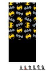 """Eplusm Komin dzieciece """"Batman"""" - 24x56cm - czarny / żółty"""
