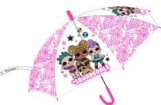 """Eplusm Esernyő """"LOL Squadgoals"""" átlátszó - rózsaszín"""