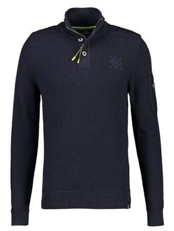 Lerros moški pulover 20O5427, XL, temno moder