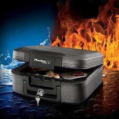 MasterLock Bezpečnostný kufor odolný ohňu a vode LCHW20101