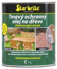 Star brite  Tmavý ochranný olej na dřevo: 4