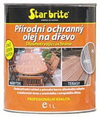 Star brite  Přírodní ochranný olej na dřevo: 3790