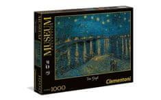 Clementoni 39344 Van Gogh: Starry Night Over The Rhone slagalica, 1000 komada