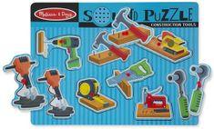 Melissa & Doug puzzle drewniane - narzędzia