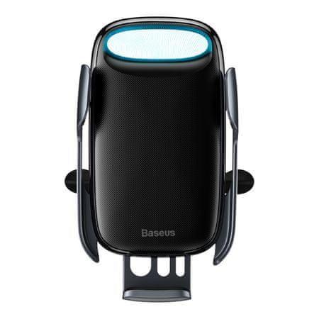 BASEUS Milky Way Electric Bracket Wireless Charger (15 W) WXHW02-01, fekete