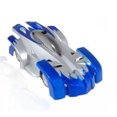 Antigravitační autíčko modré Wall Climber