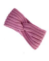 Lasoul Pletená čelenka Old Pink