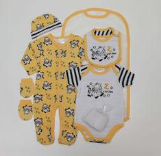 Just Too Cute zestaw prezentowy żółty - zebra