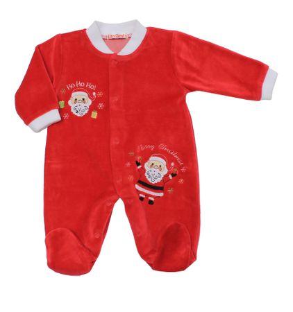 Just Too Cute kombinezon dziecięcy Santa 74, czerwony