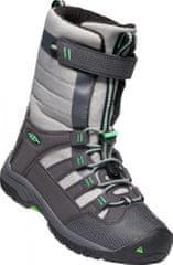 KEEN WINTERPORT NEO WP Y otroški visoki zimski čevlji, magnet/irish green