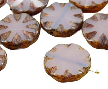 Kraftika 4 sztuki picassa opal fioletowy okno płaski rzeźbiony stół