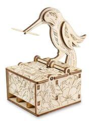 EWA ECO-WOOD-ART Ptáček na párátka