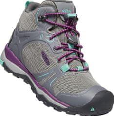 KEEN Terradora II MID WP dječje planinarske cipele, grey/beveled glass