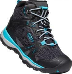 KEEN dětská treková kotníčková obuv TERRADORA II MID WP magnet/bluebird