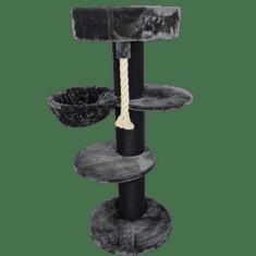RHR Quality Maine Coon Slipper Blackline Dark Grey Plus