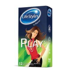Lifestyles Skyn Play kondomi, 12 kosov