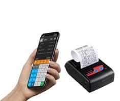 EET řešení mobilní tiskárny CASHINO PTP-II s aplikací Profi Účtenka a 10ks kotoučků