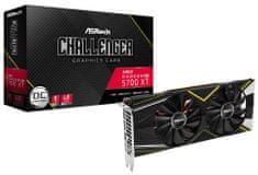ASRock Challenger D OC Radeon RX 5700 XT grafična kartica, 8 GB GDDR6