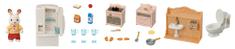 Sylvanian Families Kezdő szett bútorok és apuka nyúl figura 5479