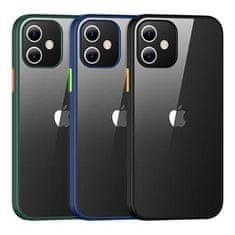 USAMS US-BH626 PC+TPU Kryt pro iPhone 12 Mini Janz Series 5.4 IP12JX03, modrý