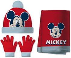 Disney chlapecký set čepice, šála, rukavice Mickey Mouse