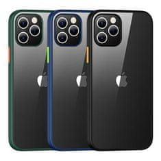 USAMS US-BH627 PC+TPU Kryt pro iPhone 12/12 Pro Janz Series 6.1 IP12PJX03, modrý