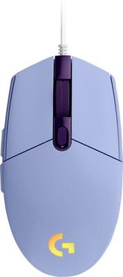 Herná myš Logitech G102 Lightsync, fialová (910-005854) senzor 8 000 DPI