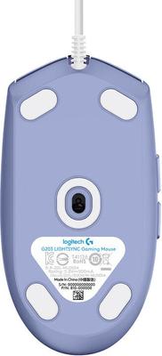 Herná myš Logitech G102 Lightsync, fialová (910-005854) káblová 16 000 DPI programovateľné tlačidlá