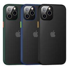 USAMS US-BH628 PC+TPU Kryt pre iPhone 12 Pro Max Janz Series 6.7 IP12PMJX01, čierny