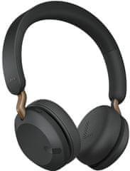 Jabra Elite 45H brezžične slušalke, titan crne