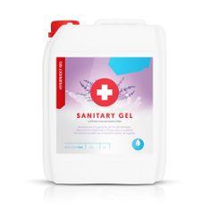 BestClean Bezoplachový dezinfekční gel na ruce s vůní levandule (balení 5 l)