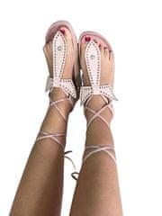 Milujtemodu Růžové sandálky