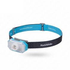 Naturehike Latarka czołowa LED Starlight, ładowanie przez USB, statyw 101 g - szara/niebieska