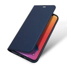Dux Ducis Skin Pro knížkové kožené pouzdro na iPhone 12 mini, modré