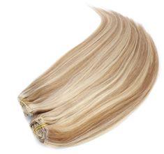 Clip-Vlasy-Levne.cz Clip in maxi set 63cm pravé lidské vlasy – REMY 240g – SVĚTLÝ MELÍR