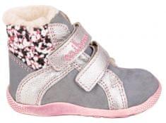 Medico dievčenská kožená zimná členková obuv EX4867/M114
