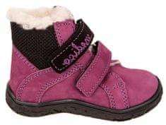 Medico dievčenská kožená zimná členková obuv EX4867/M129