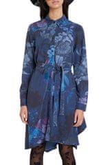 Desigual modra srajčne obleka - XL