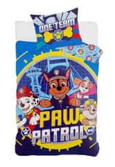 "SETINO Otroška posteljnina ""Tačke na patrulji"" - 140x200, 70x90 modra"
